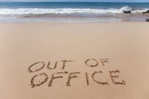 Bereikbaar op vakantie